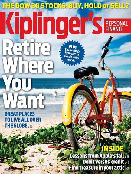 Kiplinger's Personal Finance Cover - 7/1/2013