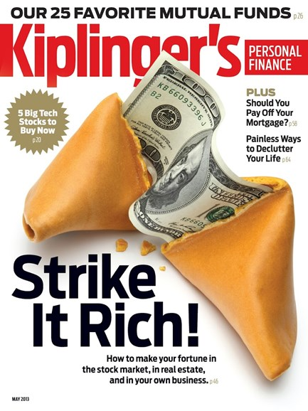 Kiplinger's Personal Finance Cover - 5/1/2013