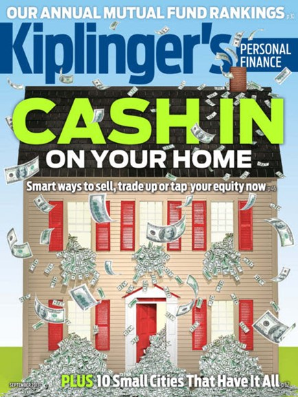 Kiplinger's Personal Finance Cover - 9/1/2013