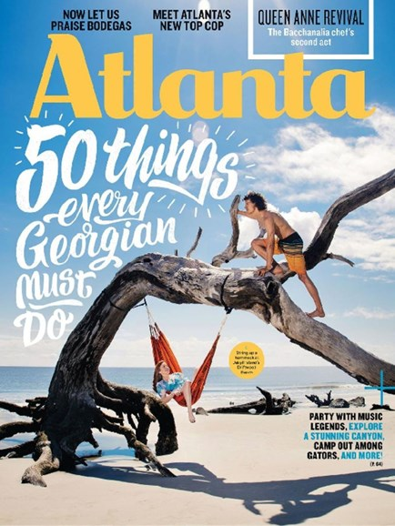 Atlanta Magazine Cover - 6/1/2017