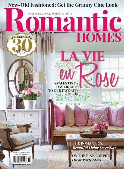 Romantic Homes Cover - 2/1/2017