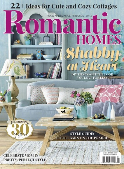 Romantic Homes Cover - 5/1/2017
