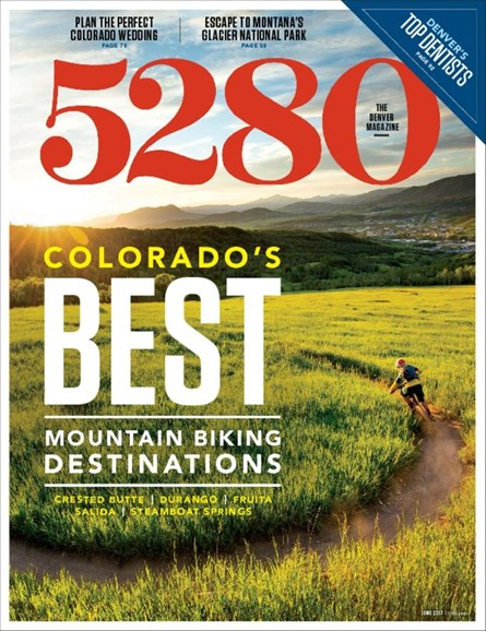 5280 Magazine Cover - 6/1/2017