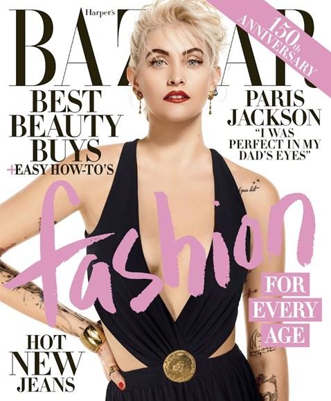 Harper's Bazaar Cover - 4/1/2017