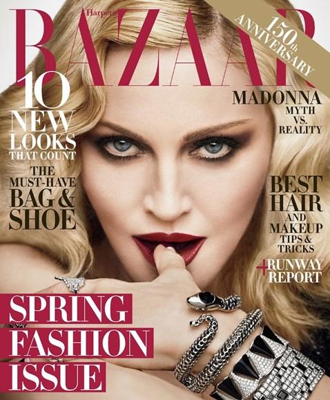 Harper's Bazaar Cover - 2/1/2017