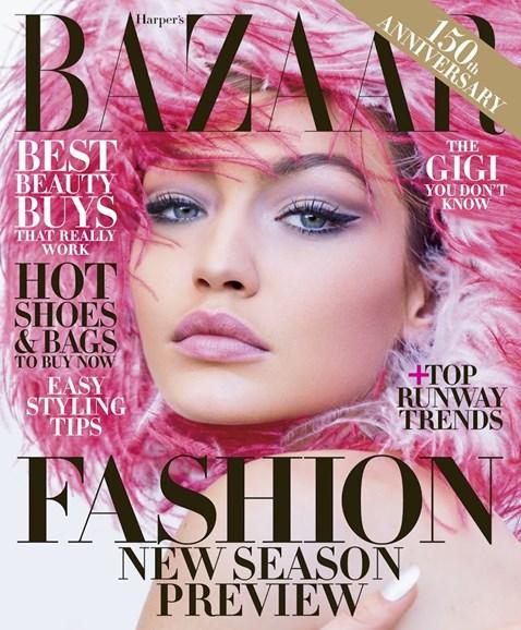 Harper's Bazaar Cover - 6/1/2017