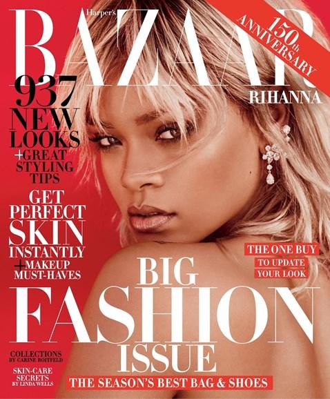Harper's Bazaar Cover - 3/1/2017