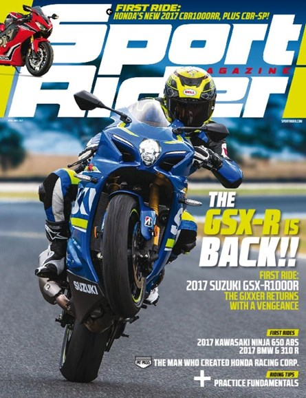 Sport Rider Cover - 4/1/2017