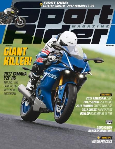 Sport Rider Cover - 6/1/2017