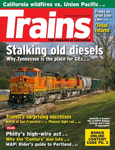 Trains Cover - 7/1/2017