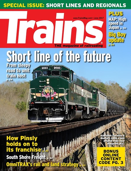 Trains Cover - 6/1/2017