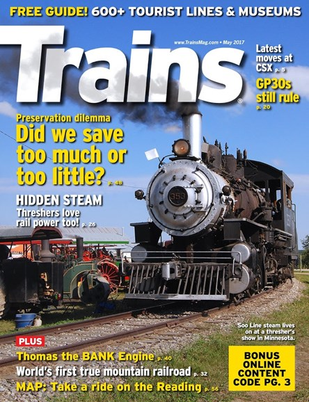 Trains Cover - 5/1/2017