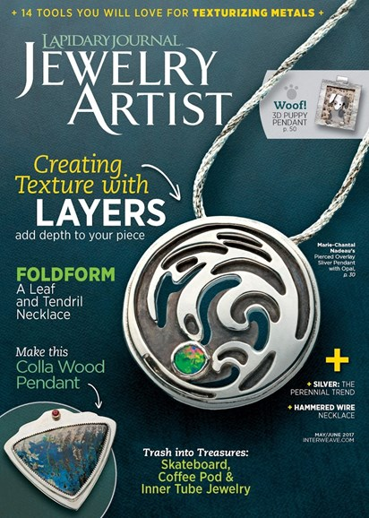 Lapidary Journal Jewelry Artist Cover - 5/1/2017