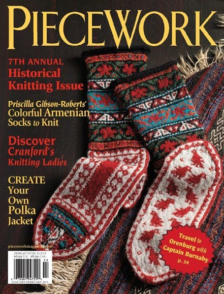 Piecework Cover - 1/1/2013