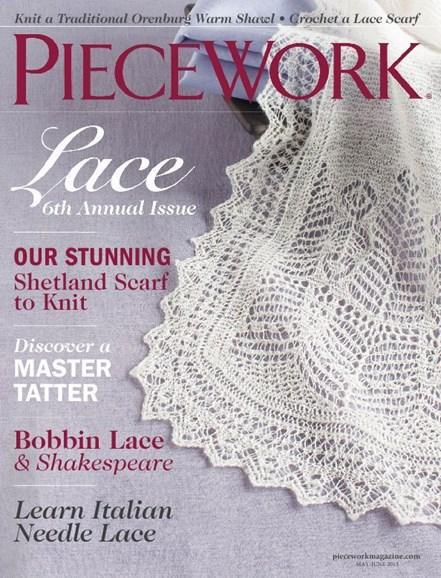 Piecework Cover - 5/1/2013