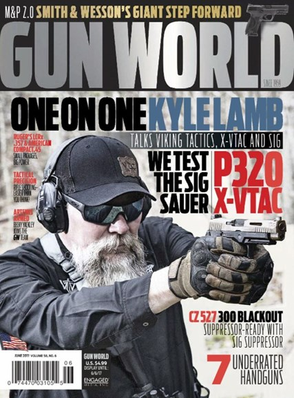 Gun World Cover - 6/1/2017