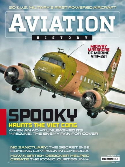 Aviation History Cover - 7/1/2017