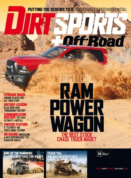 Dirt Sports & Off-Road Cover - 7/1/2017