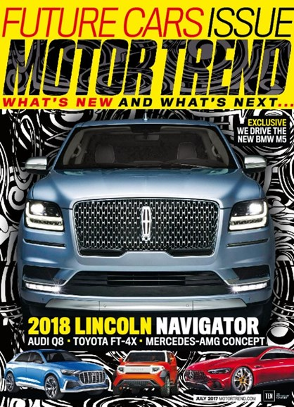 Motor Trend Cover - 7/1/2017
