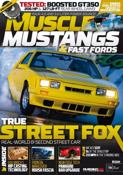 Muscle Mustangs & Fast Fords Cover - 7/1/2017