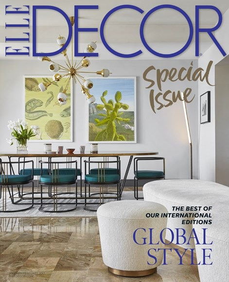 ELLE DECOR Cover - 1/1/2017