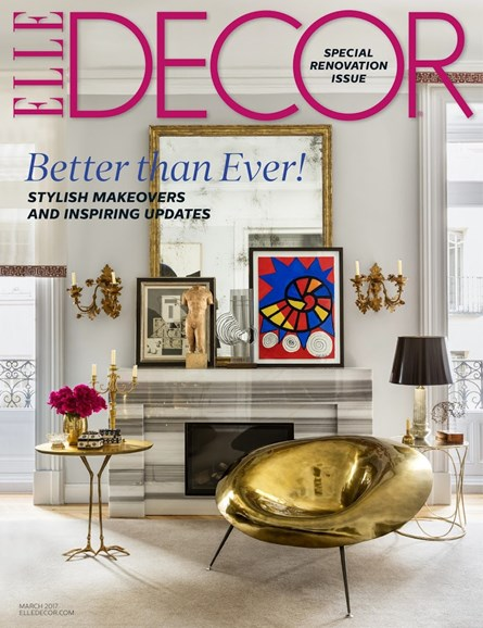 ELLE DECOR Cover - 3/1/2017