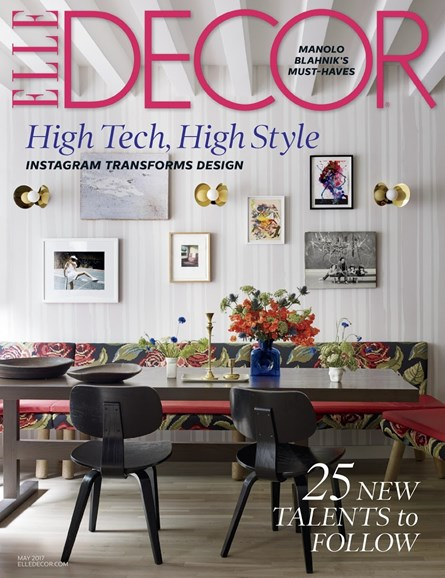ELLE DECOR Cover - 5/1/2017