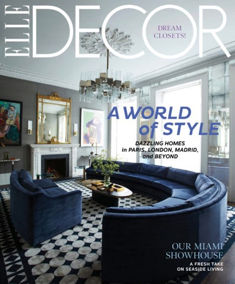 ELLE DECOR Cover - 4/1/2012