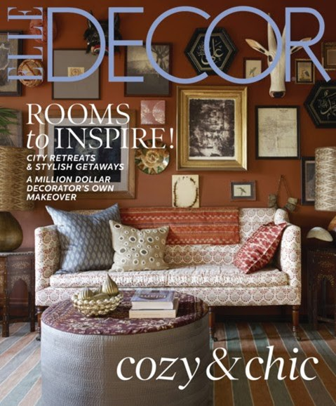 ELLE DECOR Cover - 12/1/2012