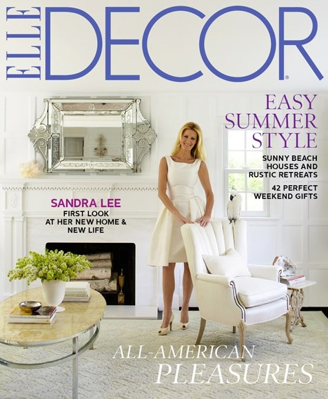 ELLE DECOR Cover - 7/1/2012