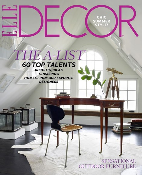 ELLE DECOR Cover - 6/1/2012