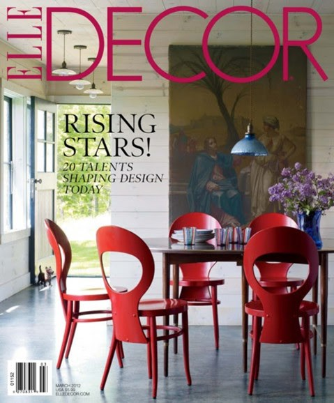 ELLE DECOR Cover - 3/1/2012
