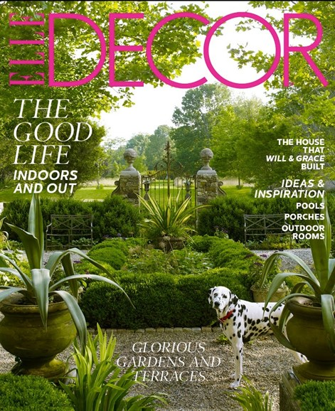 ELLE DECOR Cover - 5/1/2012