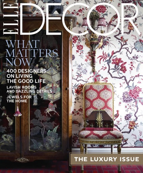ELLE DECOR Cover - 11/1/2012