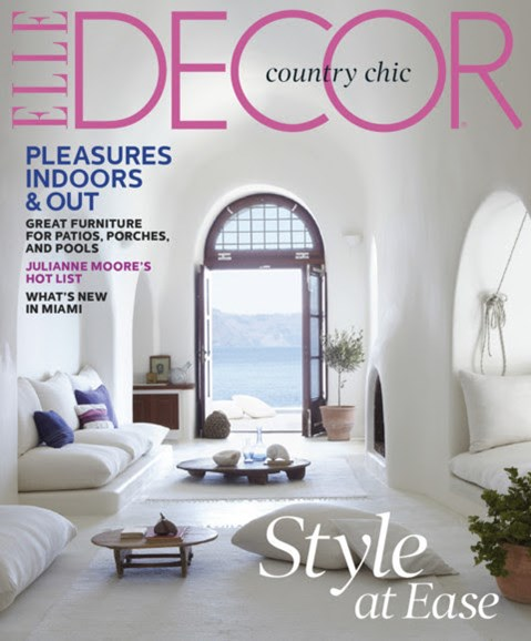 ELLE DECOR Cover - 4/1/2013