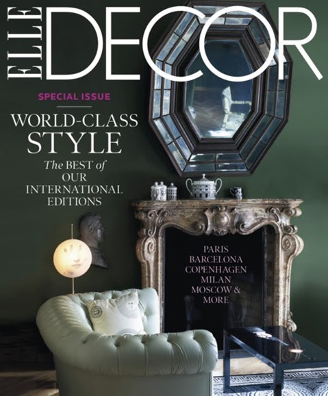 ELLE DECOR Cover - 1/1/2013