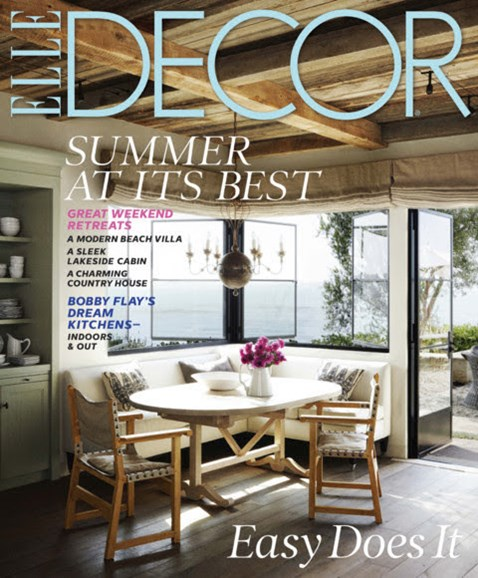 ELLE DECOR Cover - 7/1/2013