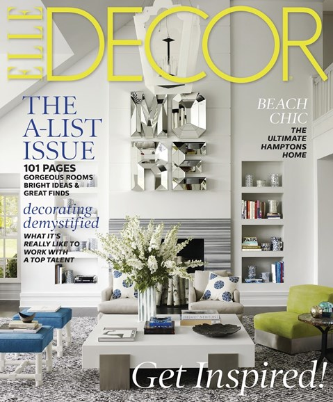 ELLE DECOR Cover - 6/1/2013