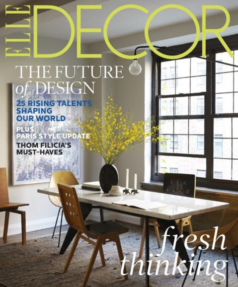 ELLE DECOR Cover - 3/1/2013