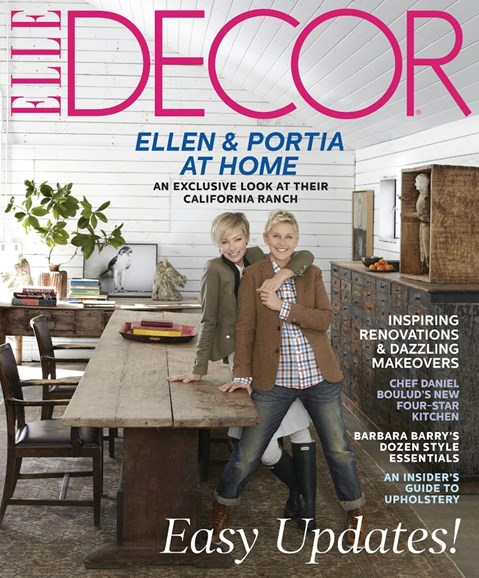ELLE DECOR Cover - 5/1/2013