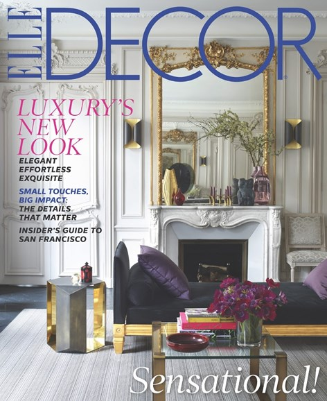 ELLE DECOR Cover - 11/1/2013
