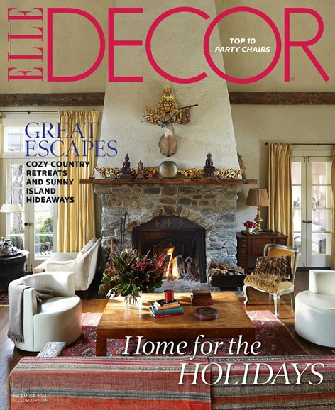 ELLE DECOR Cover - 12/1/2014