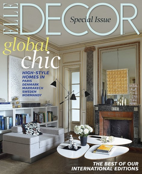 ELLE DECOR Cover - 1/1/2014