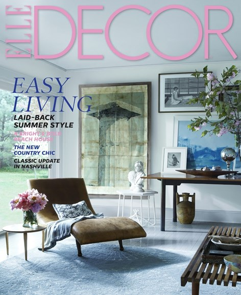 ELLE DECOR Cover - 7/1/2014