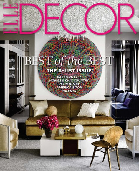 ELLE DECOR Cover - 6/1/2014