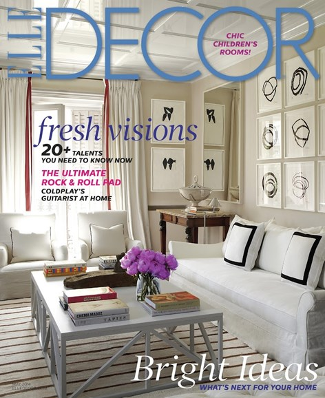 ELLE DECOR Cover - 5/1/2014