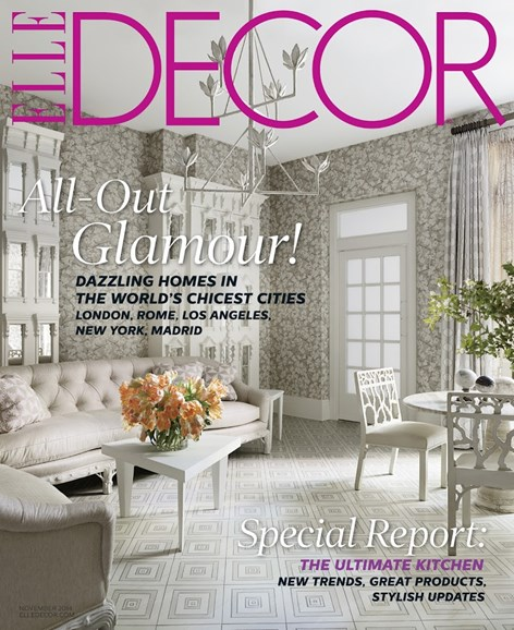 ELLE DECOR Cover - 11/1/2014