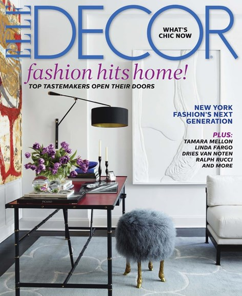 ELLE DECOR Cover - 10/1/2014