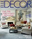 ELLE DECOR Magazine 9/1/2014
