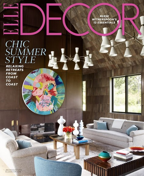 ELLE DECOR Cover - 7/1/2015
